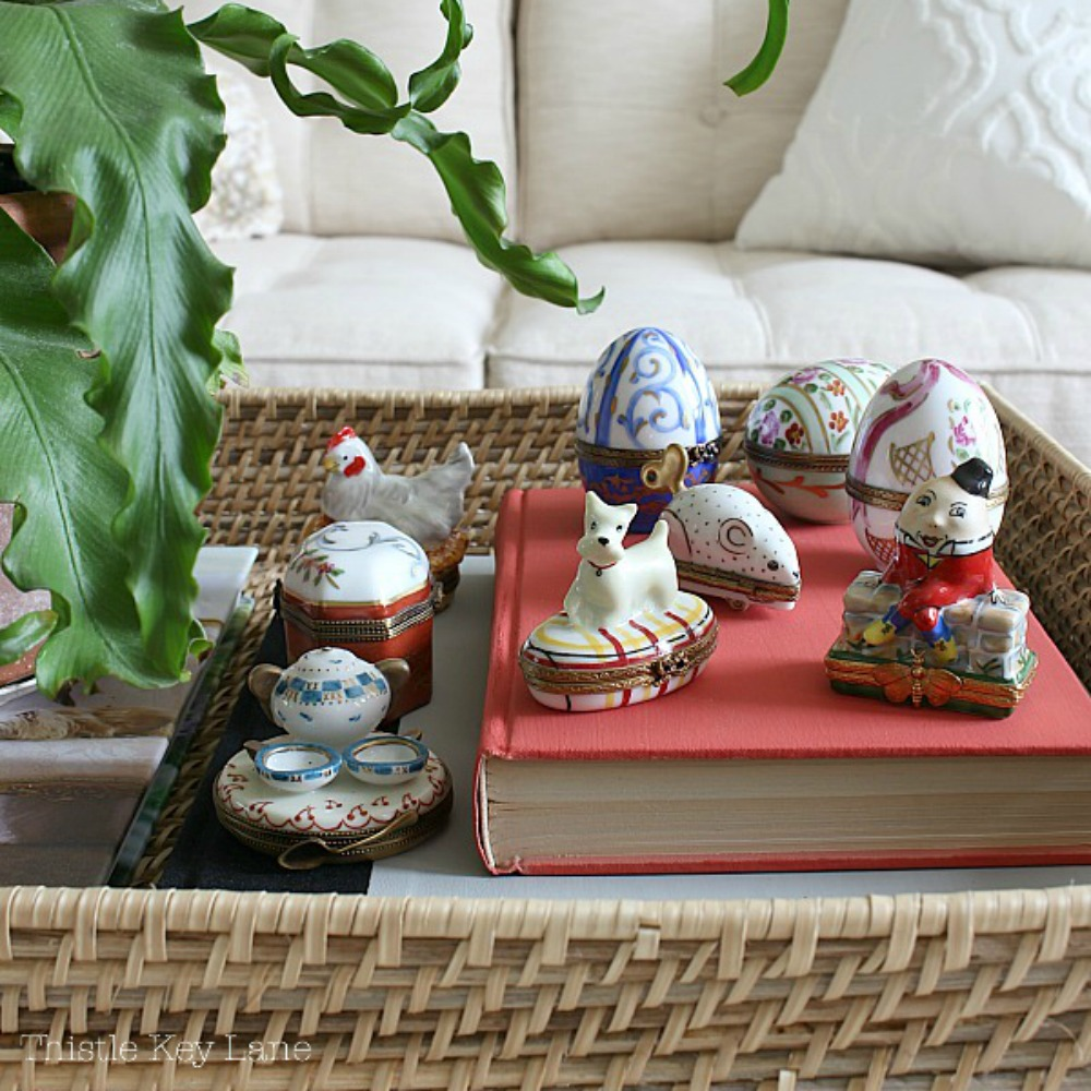 Spring Home Tour With Vintage Inspired Collectables